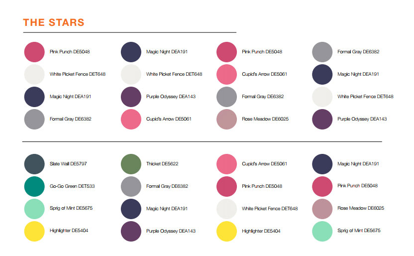 paint colors 2018